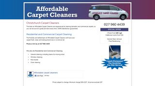 Affordable Carpet Cleaners