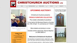 Christchurch Auction