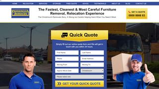 Christchurch Removals
